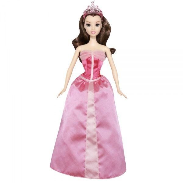 Кукла Принцесса Дисней Белль в волшебном платье