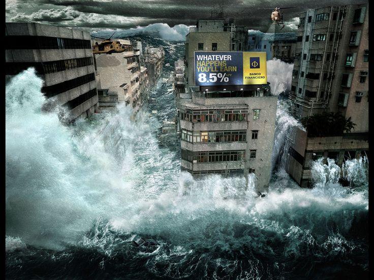 Banco Financiero - Flood by Y&R Peru - Prensa y publicaciones