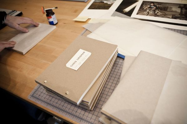 No Plastic Sleeves » The Beauty of a Hand Made Book (Chris Crisman's)