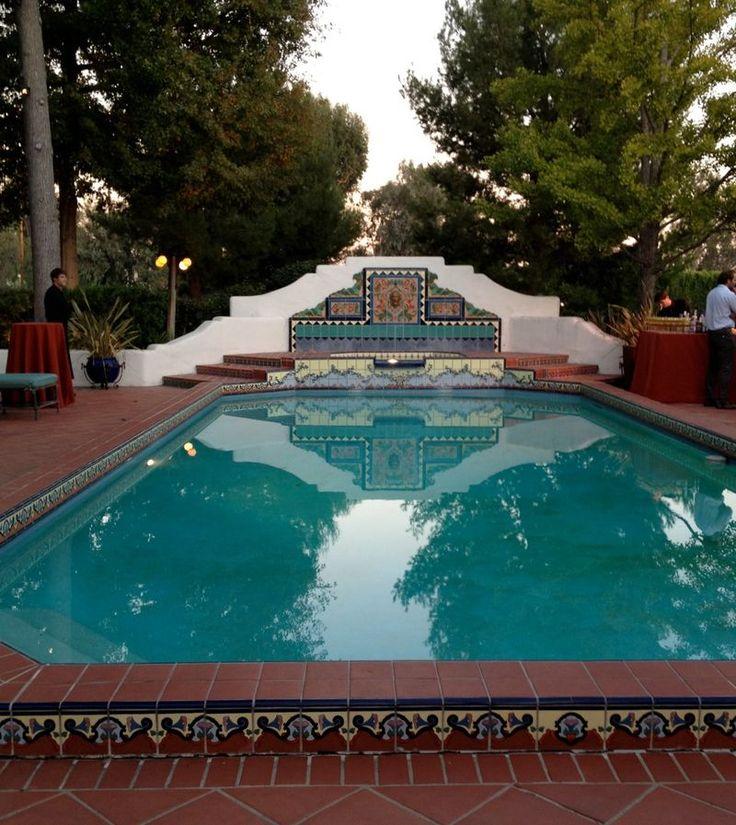 Spanish Pool, Mediterranean Home Decor