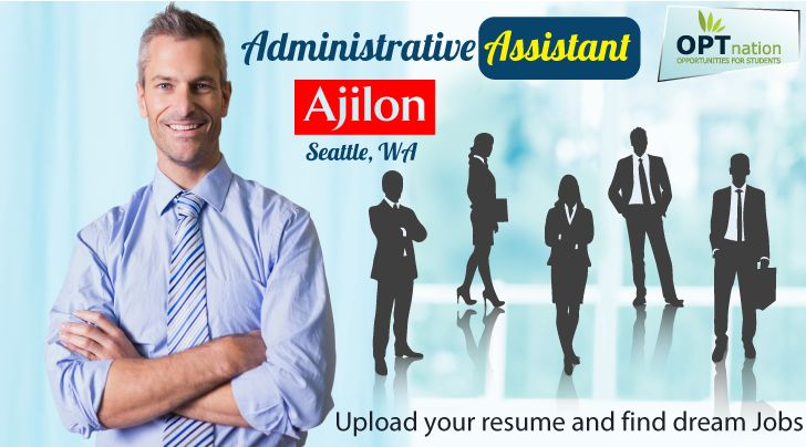 Administrative Assistant #jobs #jobseekers #USA  Ajilon – Seattle, WA