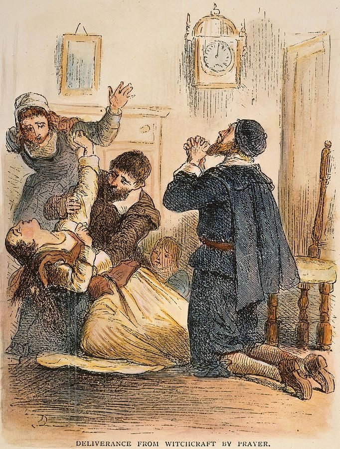 salem witch trials and mass hysteria The hallucinogens that might have sparked the salem witch trials  blame mass hysteria and boundary disputes for the witch accusations,.
