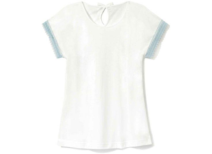 Gładka koszulka bez rękawów.