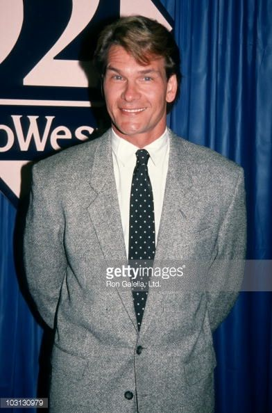 Actor Patrick Swayze attends NATOShoWest Conventionon February 20 1992 at Bally's Hotel and Casino in Las Vegas Nevada