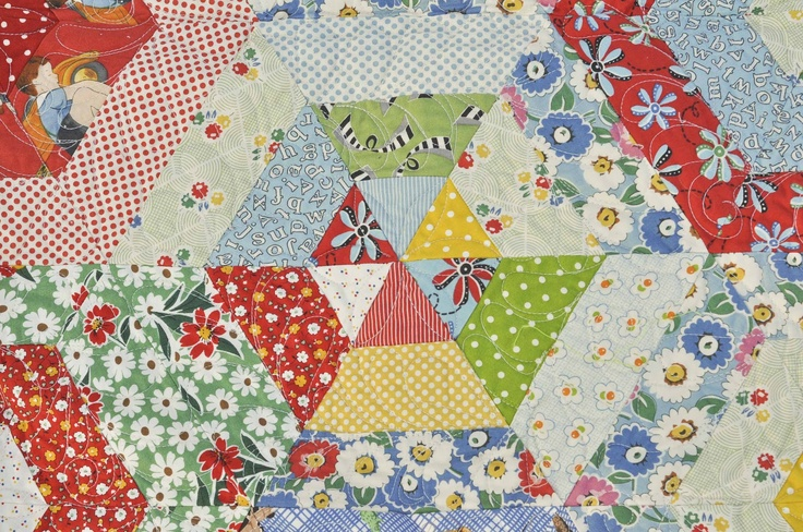 68 Best Images About 3 Quilt Design Hexagons On