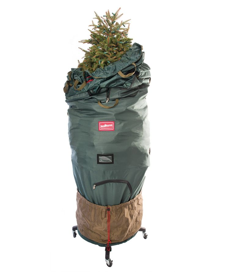 Upright Rolling Christmas Tree Storage Bag Deluxe This Would Make Clean Up EXTRA Easy