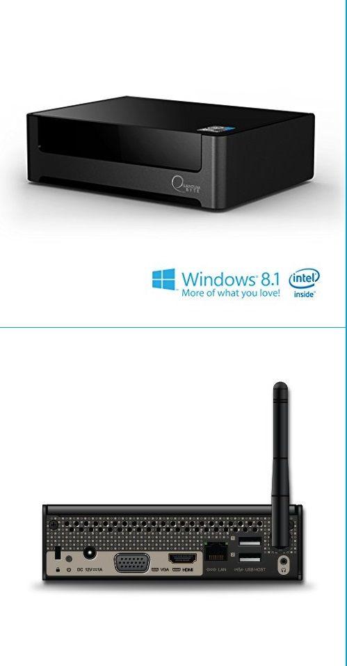 Quantum Byte Fanless Windows® Mini Desktop PC