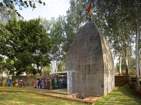 Shiv Temple by Sameep Padora & Associates #architecture #religious-buildings