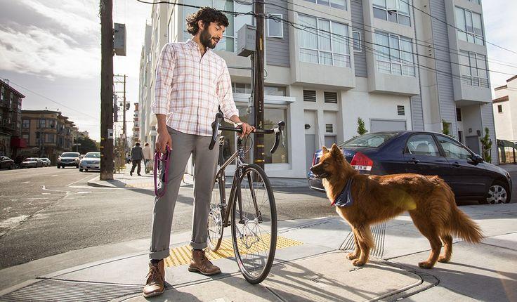 Gray Bike to Work Pants   Men's Bike Pants   Betabrand
