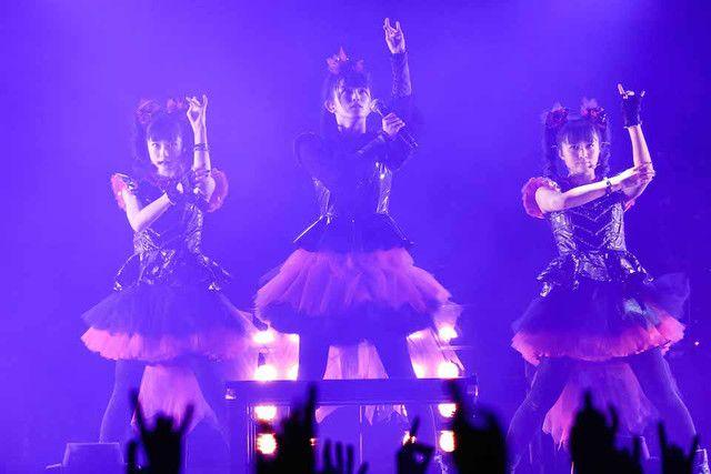BABYMETAL本日横アリで新アルバム、世界ツアー、ドーム公演発表 - 音楽ナタリー