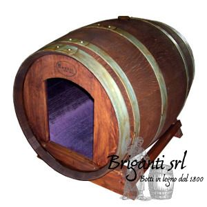 2212 - Cuccia per cane da botte usata lucidata cod.080/E