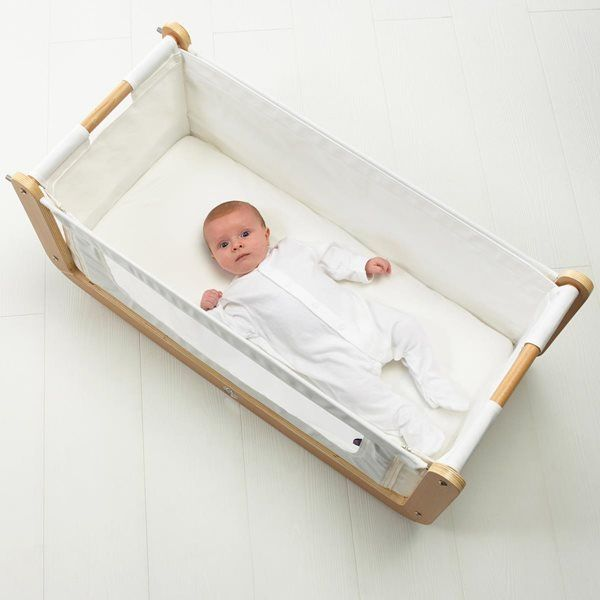 BabyBay Maxi 89x51cm Natural Crib Mattress - The Little Green Sheep