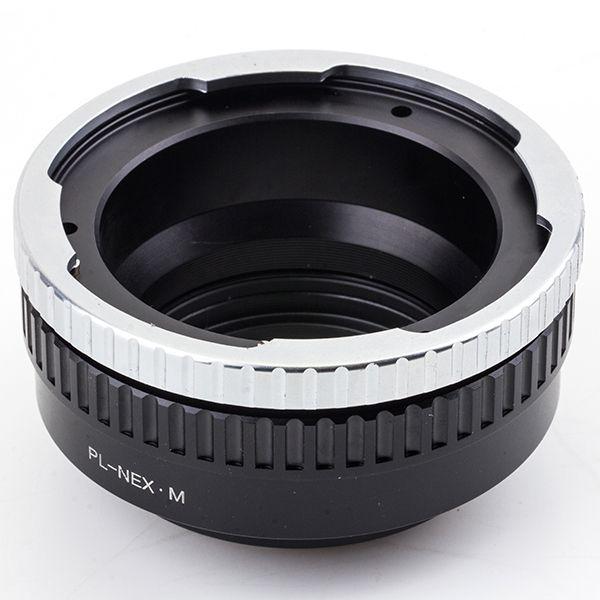 Focusing Helicoid Lens Adapter Suit For PL - NEX /M to Sony E Mount NEX For NEX-5T NEX-3N A5000 A3000 NEX-VG900 NEX-VG30