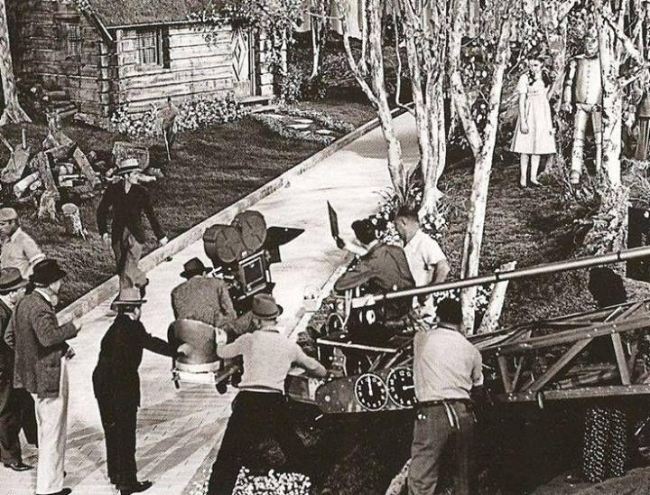 Wizard of Oz behind the scenes
