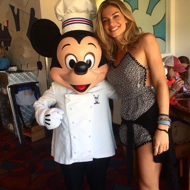 Grazi Massafera curte férias na Disney (Foto: Instagram / Reprodução)