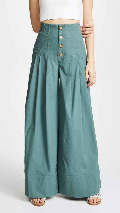 56ccd2cb7d46 Sea Bernadette High Waist Pants
