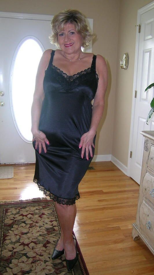 Pantyhose glamourvision slips and
