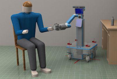 Psico-tecnologia italiana:un ROBOT per aiutare persone con lievi difficoltà cognitive