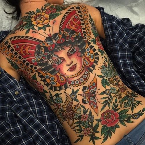 Pin by hap clemons on old school and new old school flash for Tattoo shops 24 hours