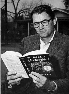 "Gregory Peck reading ""To Kill a Mockingbird."""