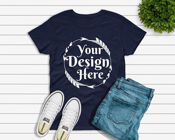 Download Free Gildan 500 Navy Unisex Basic Knotted T Shirt Flat Lay Psd Free Psd Mockups Clothing Mockup Mockup Free Psd Shirt Mockup