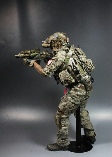 "DEVGRU OP NEPTUNE SPEAR "" well detailed figure, almost the exact same Devgru wear out there in Pakistan"""