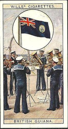 Will's Cigarette Card Flags of The Empire - British Guiana | eBay