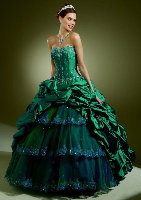 PEACOCK WEDDING DRESSES IN BALL GOWN STYLE | World Of ...