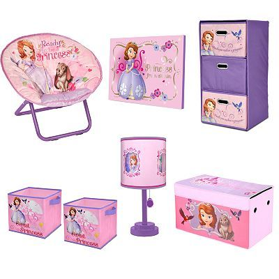 Disneyu0027s Sofia The First Kids Bedroom Collection