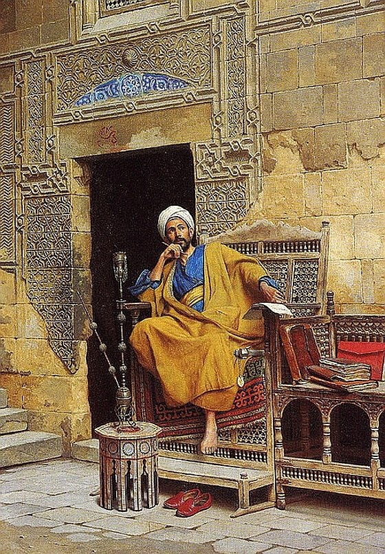 Ludwig Deutsch (Austrian painter) 1855 - 1935  The Scribe, 1896