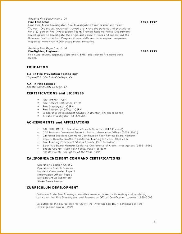 Firefighter Job Description Resume Beautiful 9 Fire Captain Resume Example Free Samples Examples Firefighter Jobs Firefighter Resume How To Make Resume