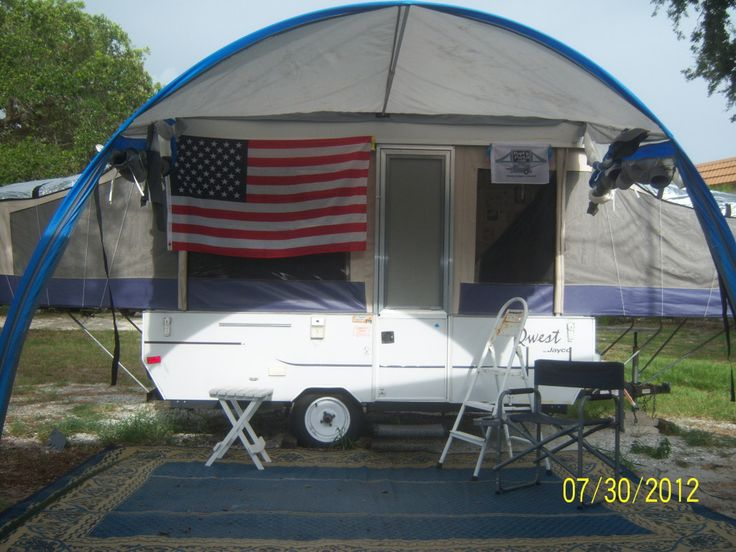 Pop Up Camper Awning Screen Room Camper Pinterest
