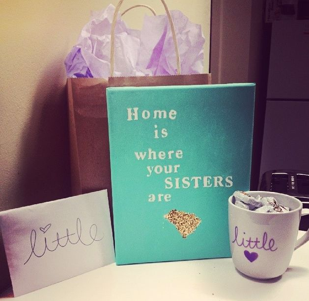 Home is where your sisters are