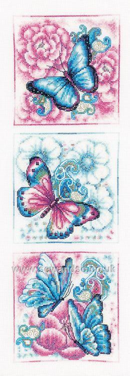 Blue Butterflies http://www.sewandso.co.uk/Products/Blue-Butterflies-Cross-Stitch-Kit__VER-PN-0147044.aspx
