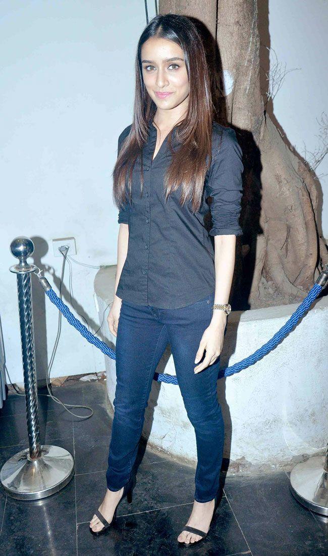 Shraddha Kapoor at a party to celebrate 'Haider's National Award win. #Bollywood #Fashion #Style #Beauty