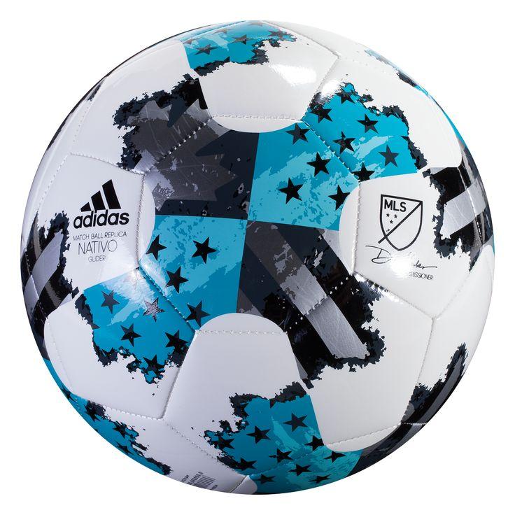 adidas 2017 MLS Glider Soccer Ball | Soccer, Soccer ball