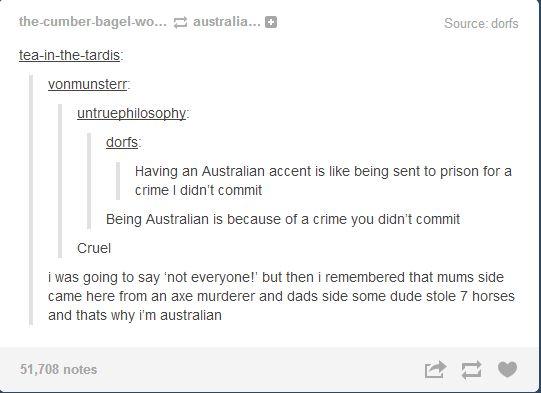 Why Australians are Australian