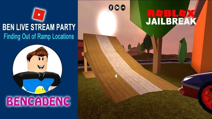 🔴 Ben Live Stream Party | Roblox Jailbreak: Finding Out of Ramp Locations   #ROBLOX #ROBLOXART #Robloxtoys #robloxchallenge  #Jailbreak #youtubegaming #youtube #Giveaway #Retweet #gaming #videos #media #share #subscribe