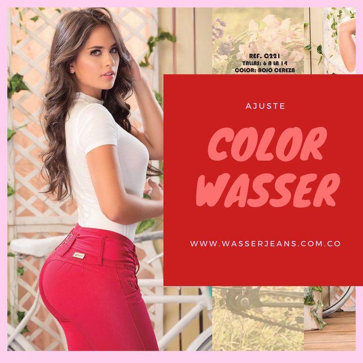 """""""El rojo alegra cualquier situación, puede ser sexy, atrevido y seductor."""" Marie Claire. Atrévete a ser el centro de las miradas. #WASSERJEANS  Puedes ver nuestro nuevo catálogo en nuestra página http://www.wasserjeans.com.co/catalogo/  Pregúntanos como adquirir nuestros diseños línea/whatsapp +57 312 4765220 #AjustePERFECTO  Producto 100% Colombiano  Instagram @wasserjeansoficial"""