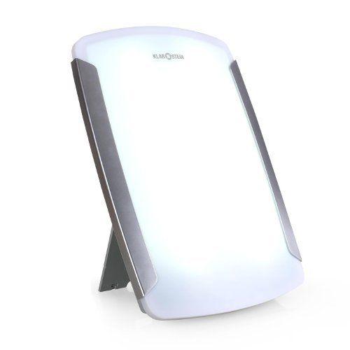Klarstein 3MC Lampe de Luminothérapie simulation lumière du jour énergisante , thérapie à la lumière pour + de bien-être (intensité 10000…