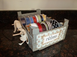 Life, Made Interesting.: Clementine Crate Ribbon Rack