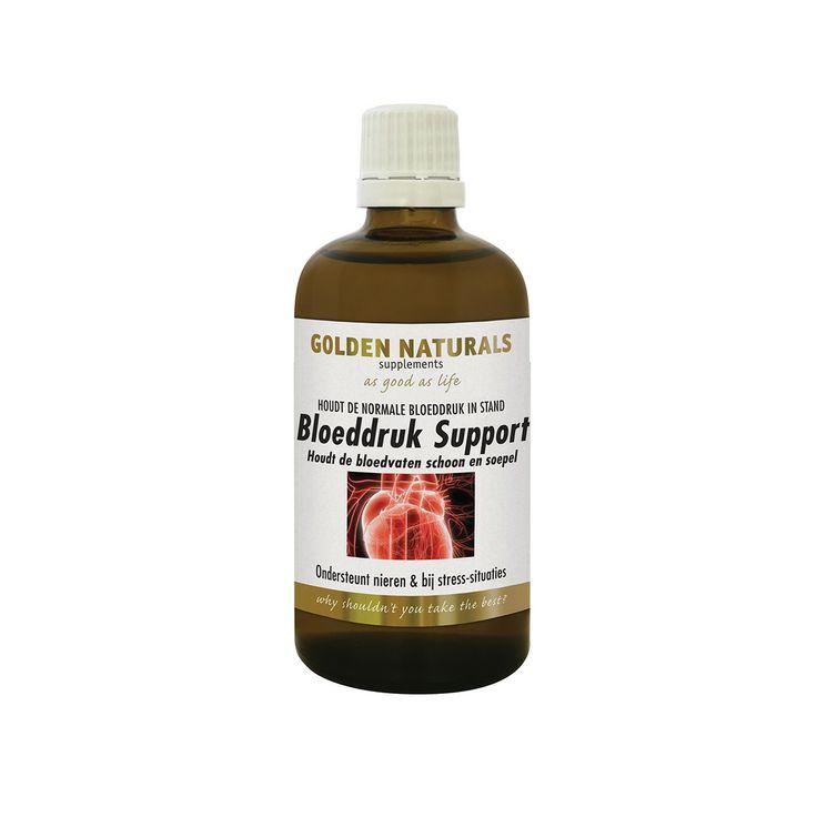 Golden Naturals Bloeddruk Support helpt om de harvaten in een goede conditie te houden. Ook helpt dit product om een goede bloeddruk in stand te houden.