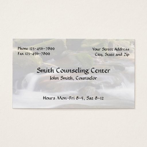 187 best Mental Health Counselor Business Cards images on Pinterest