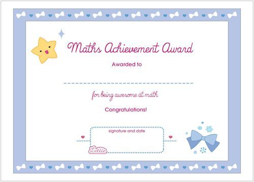 21 best Certificates images on Pinterest Cook, For kids and Free - free award certificates