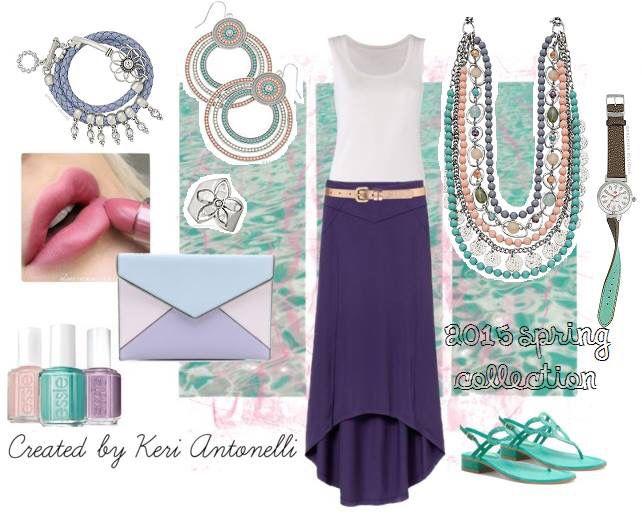 Sugar rush necklace, Quick Change watch, Keeper bracelet, sorbet earrings, Joy's inspiration ring. #PremierDesigns #Jewelry JamieStahl.mypremierdesigns.com
