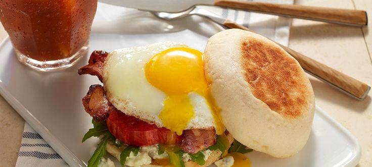 Bacon-Zola Breakfast Sandwich