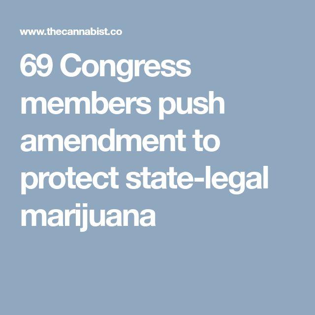 69 Congress members push amendment to protect state-legal marijuana