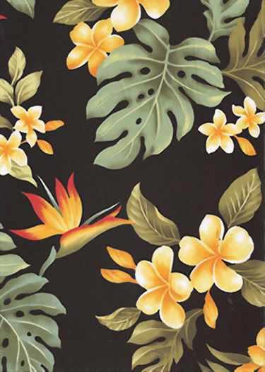 *Hawaiian fabrics for your sarong~~