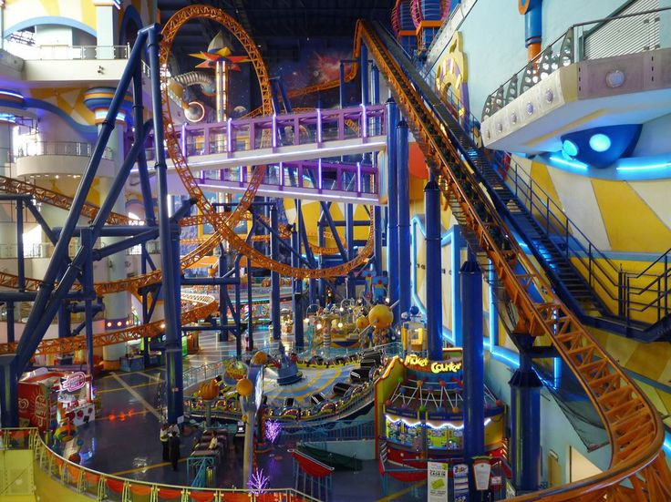 Cosmo's World - this indoor theme park occupies floors 5 through 8 of Berjaya Times Square, Kuala Lumpur, Malaysia  http://earth66.com/rides/cosmos-world-indoor-theme-park-occupies-floors-5-8-berjaya-times-square-kuala-lumpur-malaysia/