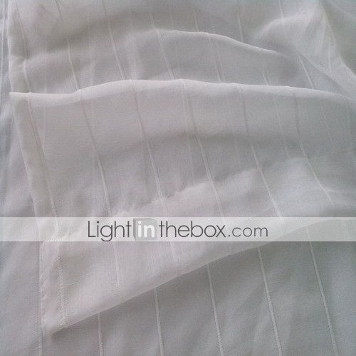To paneler Window Treatment Moderne , Stribe Soverom Polyester Materiale Gardiner Skygge Hjem Dekor For Vindu 687493 2017 – kr.304